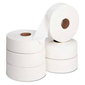 "Georgia Pacific Corp. GPC13102 Jumbo Roll Bath Tissue, 12"" diameter, 2000ft, 6 Rolls/Carton"
