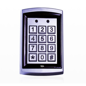 "BEA 10KEYPADU 3"" x 4-3/4"" Square Universal Keypad with 1;010 User Codes Aluminum Finish"