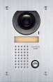 Aiphone JF-DVF JF Series Flush Mount 1-Channel Color Video Door Station Intercom with Weather Resistant, Stainless Steel