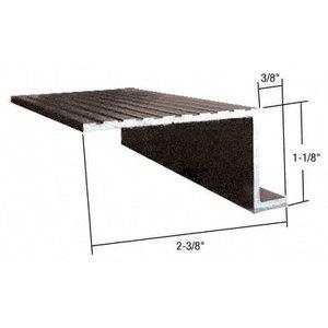 """CRL Bronze 74/"""" Retractable Screen Door Round Sill Adaptor"""