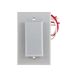 Dortronics W5286-P23DA 5286 Series Single Gang Push Plate Switch, Pneumatic 2-60 Second Delay, Form Z, 1-1/2 In. Wide Push Plate, 3 In. Wide Back Plate