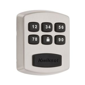 Kwikset 905-15 Keywayless Electronic SmartCode Deadbolt Satin Nickel Finish