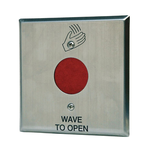 """MS Sedco 216 Infrared Switch Touchless Plate, 4-1/2"""" Square"""