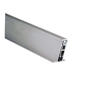 "Pemko 411ARL 36 36"" Full Mortise Automatic Door Bottom with Sponge Neoprene Mill Finish Aluminum Finish"