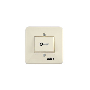 RCI 909S-MO Momentary Surface Rocker Switch, White Finish