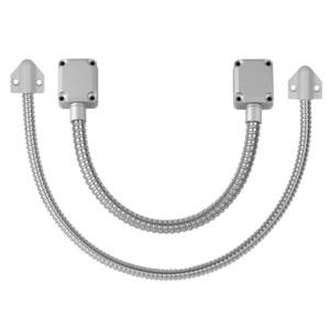 """RCI 9507-18S Standard 18"""" Flexible Door Loop Cord, Silver Finish"""