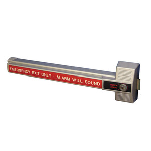 DETEX ECL-230X Rim Exit Device with Alarm Exit Only