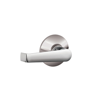 Schlage Residential F10 ELA 625 Elan Lever Passage Lock with 16080 Latch and 10027 Strike Bright Chrome Finish
