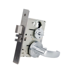 Falcon MA541P QG 626 MA Series Entry/Office Mortise Lock, Satin Chrome