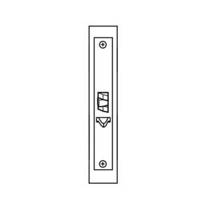 Corbin Russwin ML2057 LL 630 ML2057 Mortise Storeroom Lever Lockset Body Only