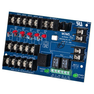 Altronix MOM5 UL Listed Sub Assembly Multi Output Power Distribution Module