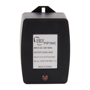 IEI Linear PIP16VAC Plug In 16 Volt AC Power Supply