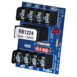 Altronix RB1224 12 and 24 Volt DC Relay Module