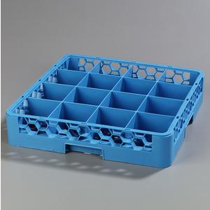 CARLISLE RC1614 16 COMPARTMENT RACK CARLISLE BLUE