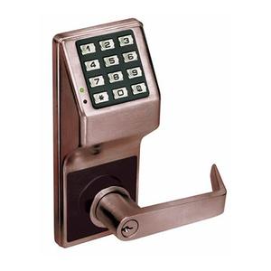 Alarm Lock DL2700 US10B DL2700 Series Trilogy T2 Cylindrical Electronic Digital Lock, Oil Rubbed Dark Bronze