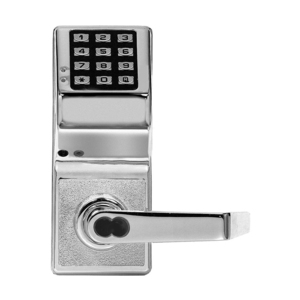 Alarm Lock DL3000IC US26D Digital Lock with Interchangeable Core for Best Prep Satin Chrome Finish
