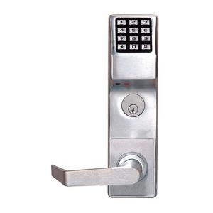 Alarm Lock DL3500DBL US26D DL3500 Series Trilogy High Security Mortise Deadbolt Audit Trail Digital Lock