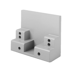 """Ives Commercial MB2 SPBLK Mounting Bracket Stop Widths Up to 2-1/2"""" Black Finish"""