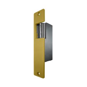 Trine 001-8-16AC/4-6DC Electric Strike Satin Brass Painted