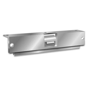 Folger Adam 310-6-8 627 Faceplate Satin Aluminum Clear Coated