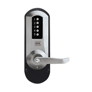 Kaba Access 5010XSWL-26D-41 5000 Series Mechanical Pushbutton Exit Trim
