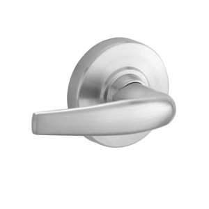 Command Access Technologies CAND12DEL ATH 605 24V Electric Cylindrical Lock Bright Brass