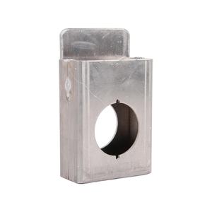 Keedex K-BXSGL234-AL SGL BX 2 3/4BKS AL WELDABLE SINGLE GATE BOX 2 3/4 INCH BACKSET