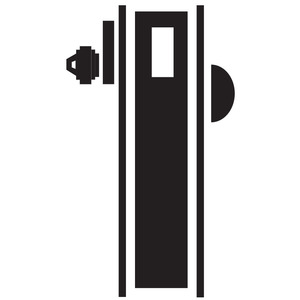 Schlage Commercial L9460P 626 Cylinder by Thumbturn Mortise Deadbolt C Keyway Satin Chrome Finish