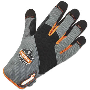 Ergodyne EGO17243 ProFlex 820 High Abrasion Handling Gloves, Gray, Medium, 1 Pair