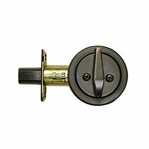 Better Home Products 10810B Keyless One-Sided Deadbolt Oil Rubbed Bronze