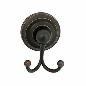 Better Home Products 5002ORB Dolores Park Robe Hook Double Oil Rubbed Bronze