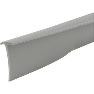 "CRL T8680 Gray 1/4"" x 1/2"" Storm Door Sweep 37"" Long"