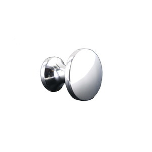 KasaWare K459PC-1 1-1/8 Inches Diameter Decorative Round Cabinet Knob Polished Chrome