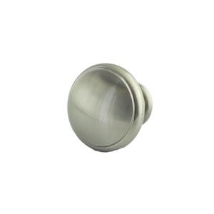 KasaWare K550SN-1 1-1/4 Inches Diameter Traditional Round Knob Satin Nickel