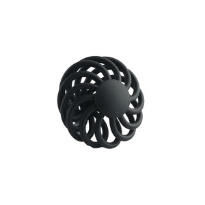 Ultra Hardware 41923 1-7/8 Inches Diameter Birdcage Cabinet Knob Black