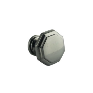 Ultra Hardware 41646 1-1/4 Inches Diameter Octagon Cabinet Knob Brushed Nickel