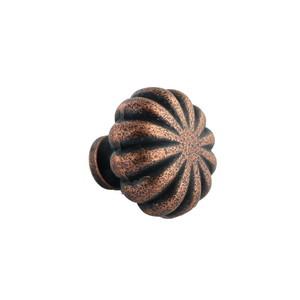 Ultra Hardware 41808 1-1/4 Inches Diameter Floral Cabinet Knob Antique Copper
