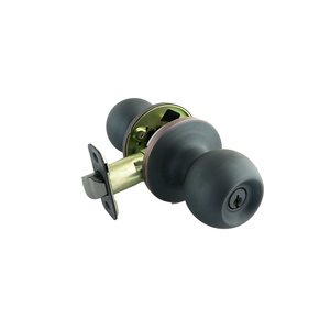 Better Home Products 10510B 2-1/2 Inches Diameter Marina Ball Knob Entry Oil Rubbed Bronze