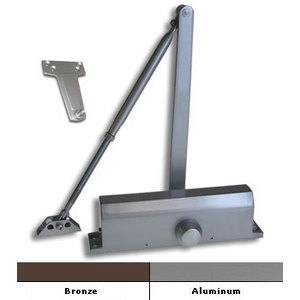 Aluminum Size 4 Surface Mount Door Closer