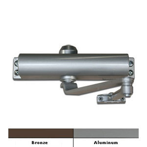 International Door Closers 853-AL International #853 Size 3 Surface Mount Door Closer Aluminum