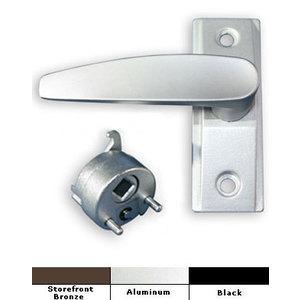 International Door Closers HL-4560-BK-LH International Commercial Storefront Door Lever Handle LH - HL-4560 Anodized Black