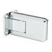 U.S. Horizon Mfg., Inc. H-CGTW-FP-C Crown Series Wall Mount Hinge With Full Back Plate Polished Chrome