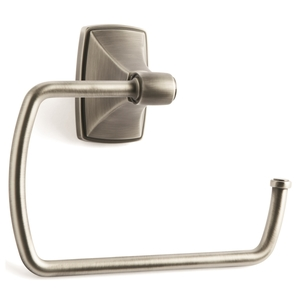 """Amerock BH26501AS Clarendon 6-7/8"""" (175 mm) Towel Ring Antique Silver Finish"""
