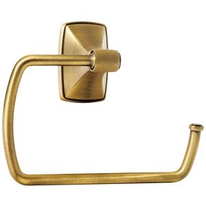 "Amerock BH26501GB Clarendon 6-7/8"" (175 mm) Towel Ring Gilded Bronze Finish"