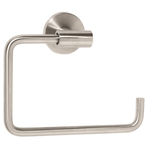 "Amerock BH26541SS Arrondi 6-7/16"" (164 mm) Towel Ring Stainless Steel Finish"