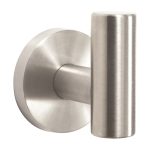 Amerock BH26542SS Arrondi Single Robe Hook Stainless Steel Finish