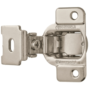 "Amerock BP2811C1314 1-1/4"" (32 mm) Matrix Concealed Cabinet Hinge Nickel Finish - Pair"