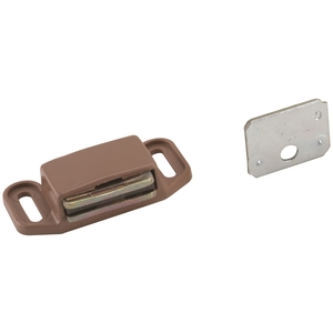 Amerock BP3473PT Magnetic Catch Plastic Tan Finish