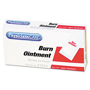 Acme United Corporation FAO13006 First Aid Kit Refill Burn Cream Packets, 12/Box