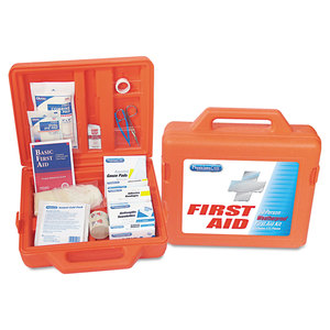 Acme United Corporation FAO13200 Weatherproof First Aid Kit for 50 People, 175 Pieces/Kit